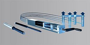 BANSBACH hydraulic linear actuation - EasyMotion